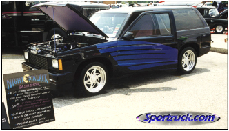 1986 S10 Blazer, Night Stalker