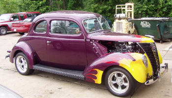 1937 FORD CLUB COUPE - Mint Real Live Club Coupe